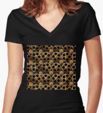 Gears A-Plenty Women's Fitted V-Neck T-Shirt