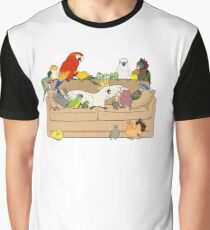 Birblr and Chill Graphic T-Shirt