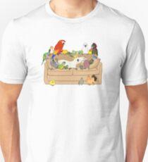 Camiseta unisex Birblr y Chill