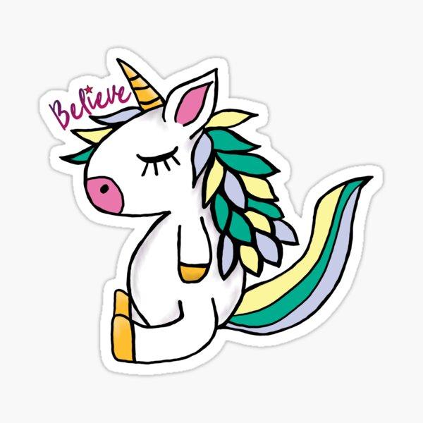 Lil Critters:  Mint Julep Believe  Sticker