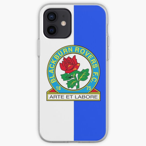 Blackburn Rovers FC logo iPhone Soft Case