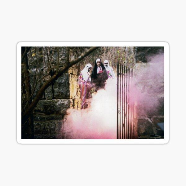 Dante Tomaselli's Desecration 'Gates of Hell' Sticker