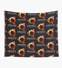 Ubuntu - linux for human beings Wall Tapestry