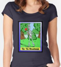 """The Tin Woodsman"" Women's Fitted Scoop T-Shirt"