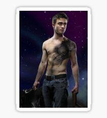 Daniel Radcliffe Dementor Tattoo Design Sticker