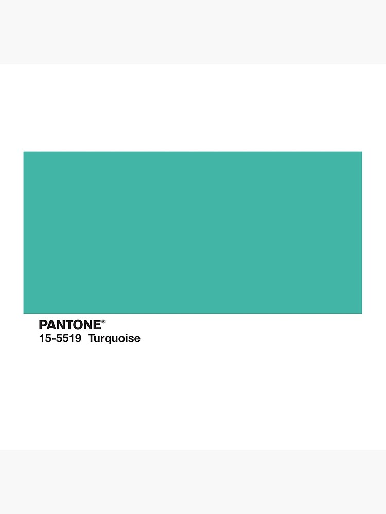 Turquoise Pantone Tote Bag By Qpeazy Redbubble