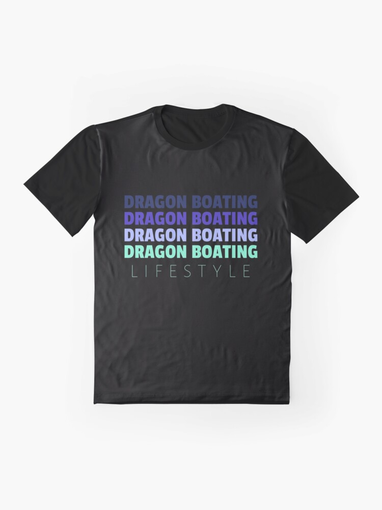 Alternate view of Dragon Boating Lifestyle Graphic T-Shirt