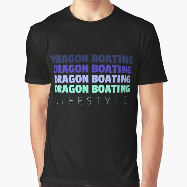 Dragon Boating Lifestyle Graphic T-Shirt