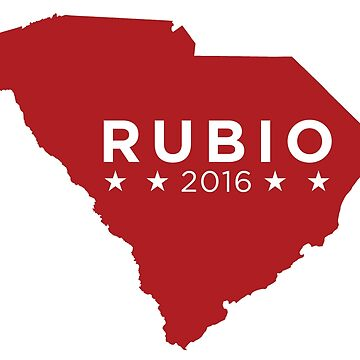 Marco Rubio 2016 State Pride - South Carolina by unitedinthreads