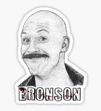 Tom Hardy as Charles Bronson Sticker
