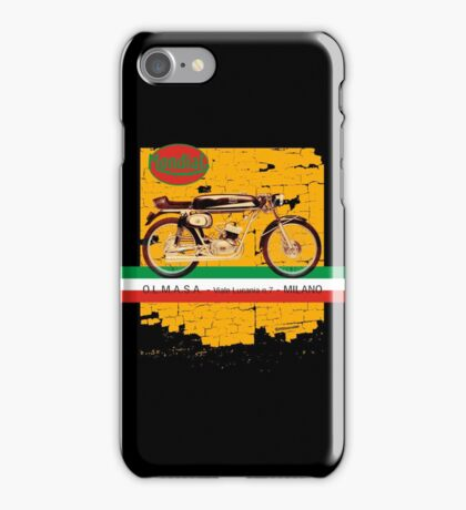 mondial cafe racer iPhone Case/Skin