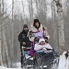 #4 Ceremonial Iditarod Start ~ DeeDee Jonrowe by akaurora
