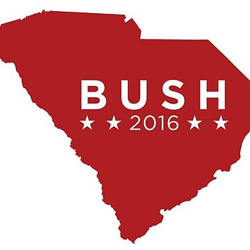 Jeb Bush 2016 State Pride - South Carolina by unitedinthreads