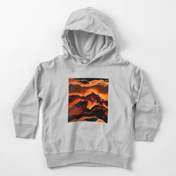 Acrylic Abstract Art Toddler Pullover Hoodie