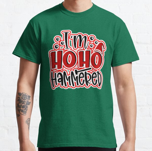 Funny Family Christmas Humour Candy Cane Sarcasm Humor Green Design Gift Idea  Classic T-Shirt