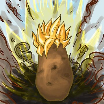 Super Saiyan Potato by Crakzull