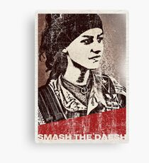 Smash the daesh Canvas Print