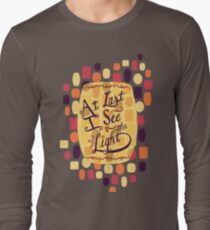 Tangled - At Last I See the Light Long Sleeve T-Shirt