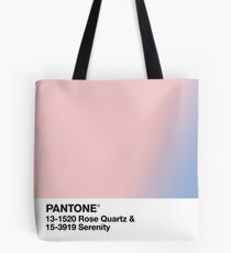 Pantone Rosenquarz Gelassenheit Tote Bag