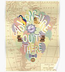 Up - Abenteuer ist da draußen Poster