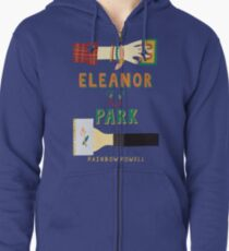Eleanor and Park by Rainbow Rowell Book Cover Zipped Hoodie