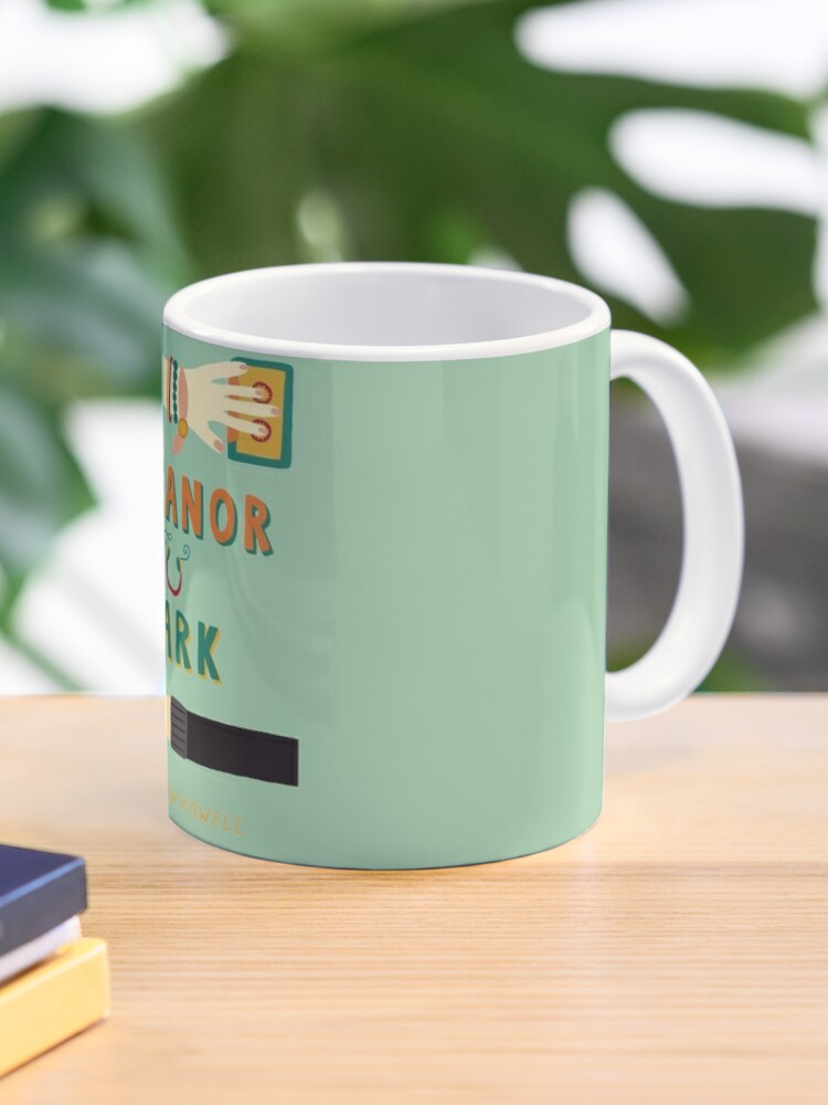 Eleanor And Park By Rainbow Rowell Book Cover Mug By Designsbyand Redbubble