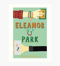 Eleanor and Park by Rainbow Rowell Book Cover Art Print
