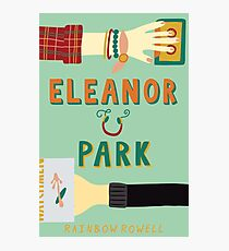 Eleanor and Park by Rainbow Rowell Book Cover Photographic Print