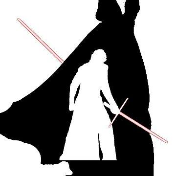 Darth Vader / Kylo Ren by sassanhaise