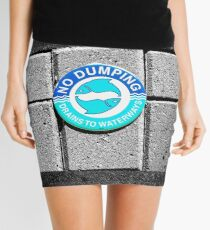 Swimming with the Fishes Mini Skirt