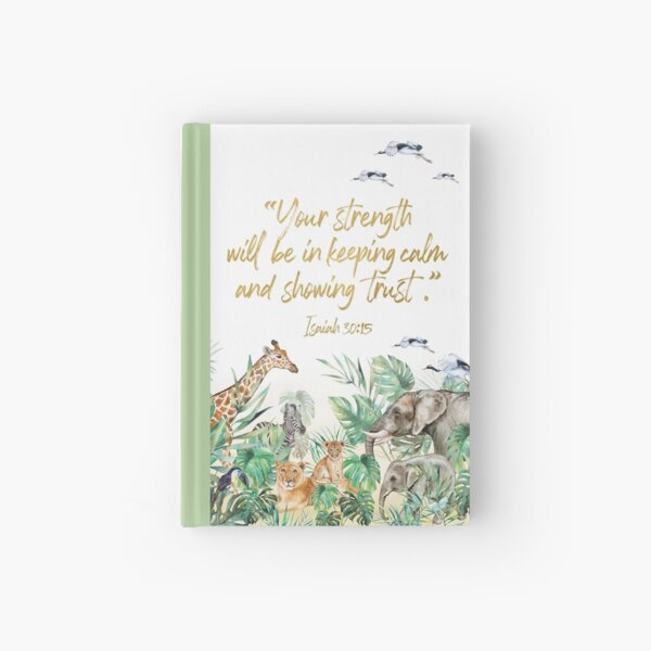2021 YEARTEXT JUNGLE Hardcover Journal