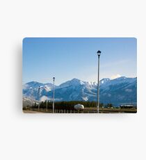 The Mountains of Jasper 3 Canvas Print