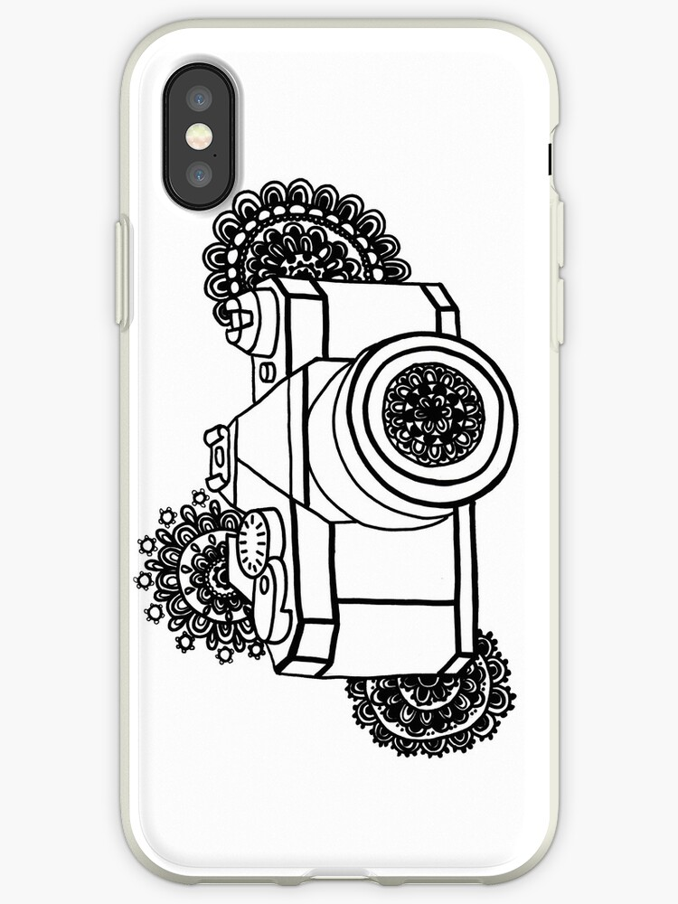 Mandala Camera Iphone Cases Covers By Sammyjodesigns