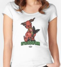 Satan (Pick Of Destiny) Women's Fitted Scoop T-Shirt