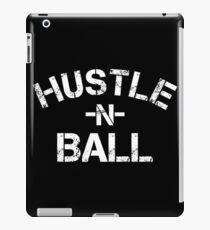 Hustle n Ball - White iPad Case/Skin