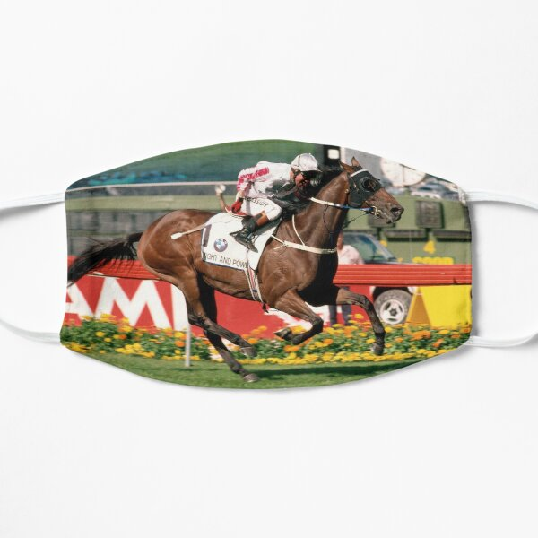 Might and Power winning the 1998 Cox Plate Flat Mask
