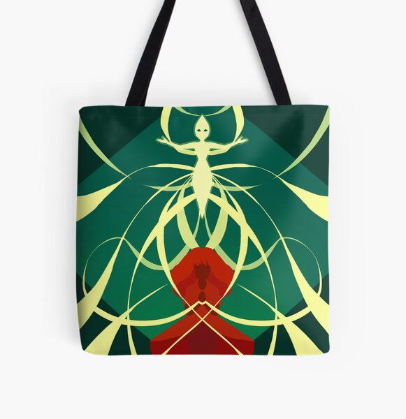 Compass - Threads of fate All Over Print Tote Bag