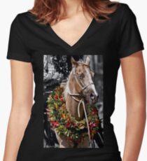 Palomino Women's Fitted V-Neck T-Shirt