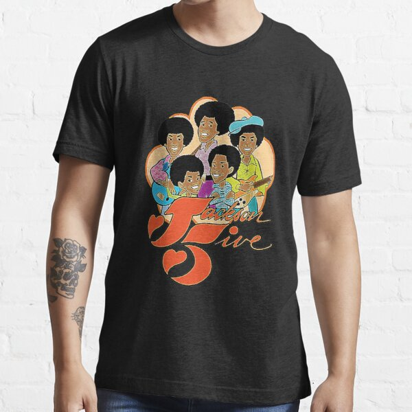 Vintage Jackson 5 70's Cartoon Retro Vintage Style Distressed T-Shirt Essential T-Shirt