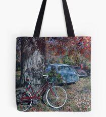 Rearview Alley, artist Lynn Garwood Tote Bag