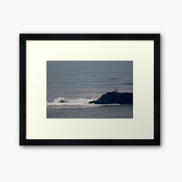 Point Bonita Lighthouse Framed Art Print