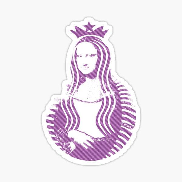 Mona Lisa Star | Violet Sticker