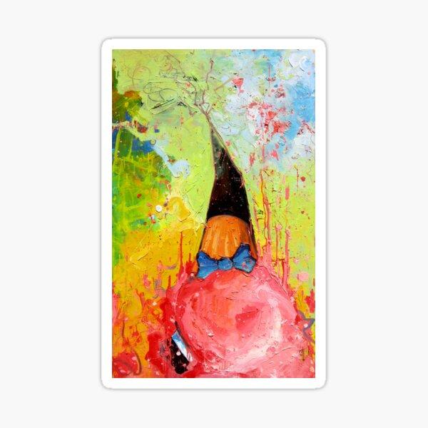 The fallen Strawberry gelato, Leonardo Luis Roque Sticker