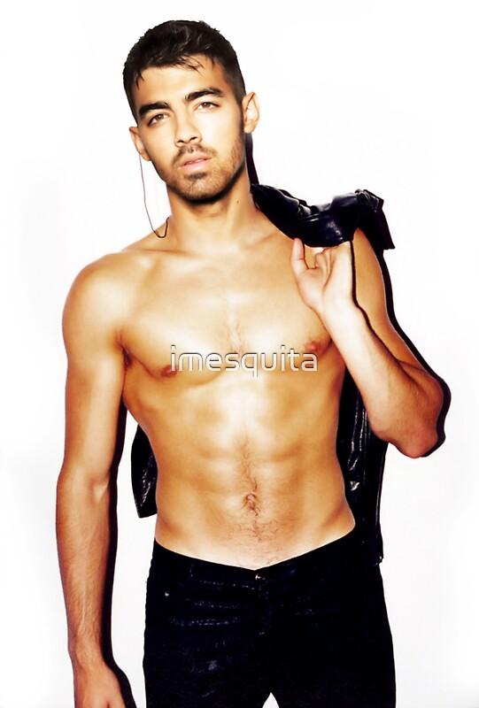 u0026quot;Joe Jonas shirtlessu0026quot; Stickers by imesquita : Redbubble