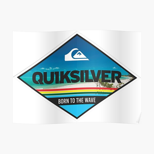 the best selling shirt of quiksilver  Poster