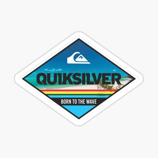la camiseta más vendida de quiksilver Pegatina