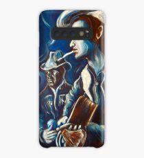 Townes Van Zandt Blues Case/Skin for Samsung Galaxy