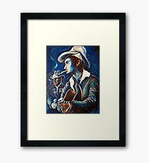 Townes Van Zandt Blues Framed Print
