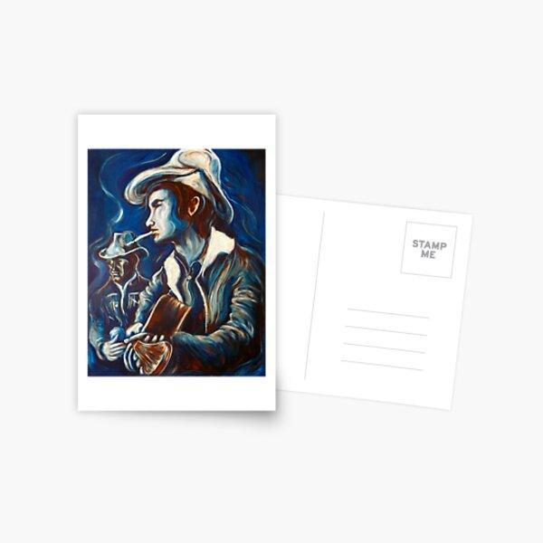 Townes Van Zandt Blues Postcard