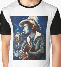 Townes Van Zandt Blues Graphic T-Shirt